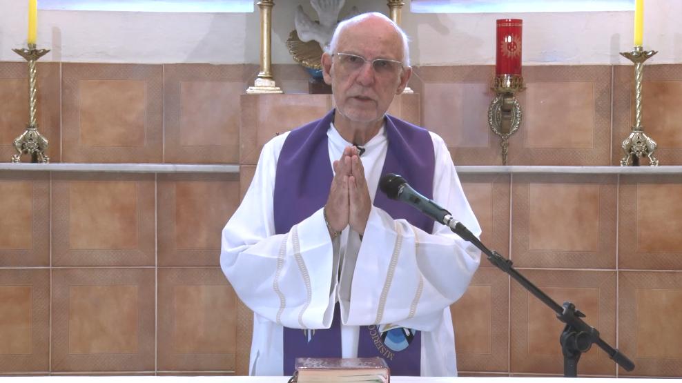 Mensagem e bênção final do Pe. Julio