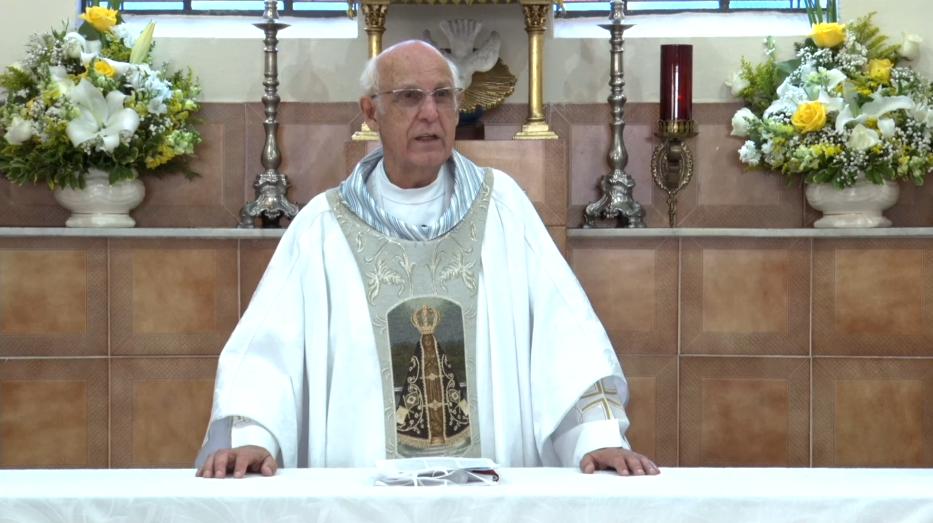 Missa de domingo às 10h muda de local, mas continua transmitida ao vivo