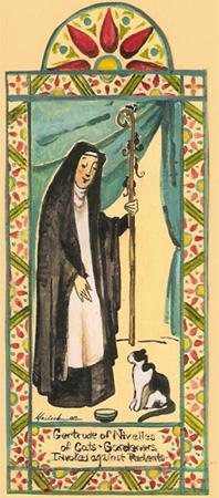Santa Gertrudes de Nivelles