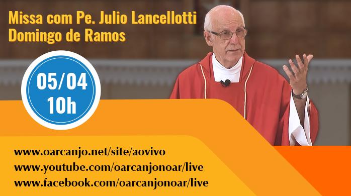 AO VIVO: Missa do Domingo de Ramos – 05/04/2020