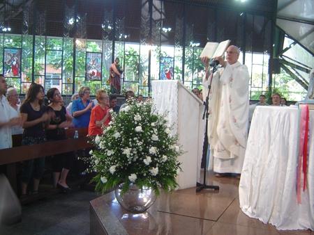 Missa na Capela São Judas Tadeu