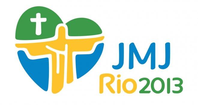 Logomarca oficial da JMJ2013