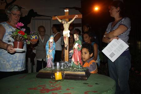 Oração a Nossa Senhora no IAPI